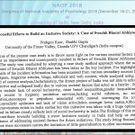 UFV India MPBC student presents paper at the 28th congress of NAOP